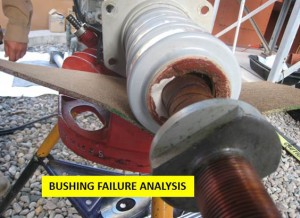Bushing failure analysis
