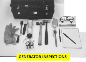 Generator inspections