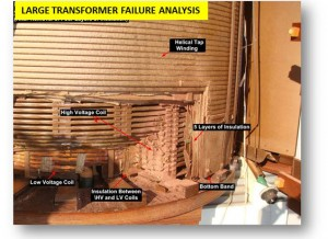 Large transformer failure analysis